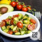 Gesunde Avocado-Bowl - Sattmacher zum Abnehmen