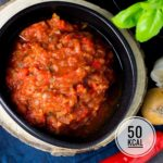 Kalorienarmer Salsa-Dip - einfach, schnell und besser als gekauft!