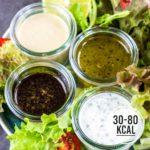 4 gesunde Salat-Dressing-Rezepte