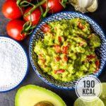Super einfache und schnelle Guacamole