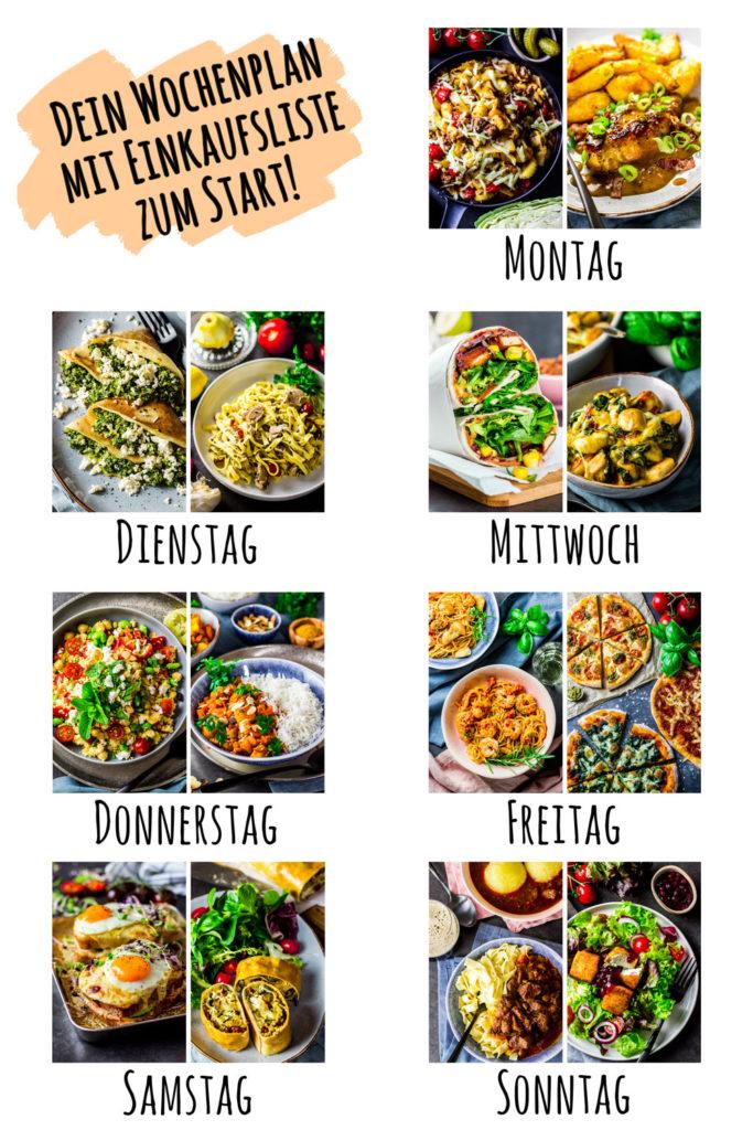 Rezepte die lange satt machen zum Abnehmen - kalorienarmes Mittagessen und Abendessen mit viel Protein. Ganz ohne Eiweisspulver. Einfache und leckere Rezepte mit viel Eiweiss halten dich länger satt, damit du dein Kaloriendefizit leichter einhalten kannst. Einfach Abnehmen ohne Hunger. Gesundes und kalorienarmes Kochen. Leckere und einfache Eiweiss-Rezepte zum Abnehmen. - kaloriengeniessen.de #highprotein #abendessen #mittagessen #ebook #kochbuch #machtsatt #eiweissreich #mittagessen #kalorienarm #gesund #kalorienarmerezepte #kaloriengeniessen #rezeptezumabnehmen #langesatt