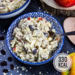 Bircher Müsli Overnight Oats (gesund, einfach und lecker)