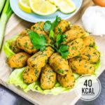 Türkische Linsenfrikadellen - Mercimek Köftesi (vegan und herzhaft)