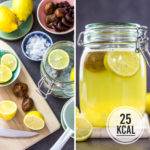 Kalorienarme Wasserkefir-Limonade selber machen (einfaches Grundrezept)